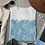 William Morris Vintage Floral Textile Pattern Blue Marigold Unisex T-Shirt