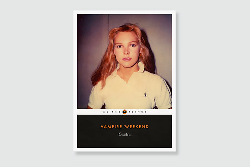 VAMPIRE WEEKEND - Contra (In style of Classic Book Cover)