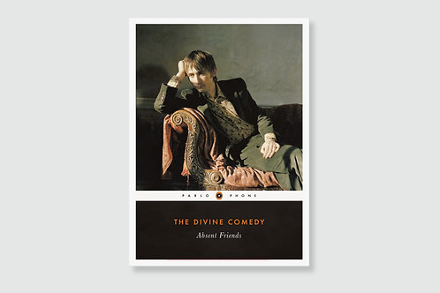 THE DIVINE COMEDY - Absent Friends (In style of Classic Book Cover)
