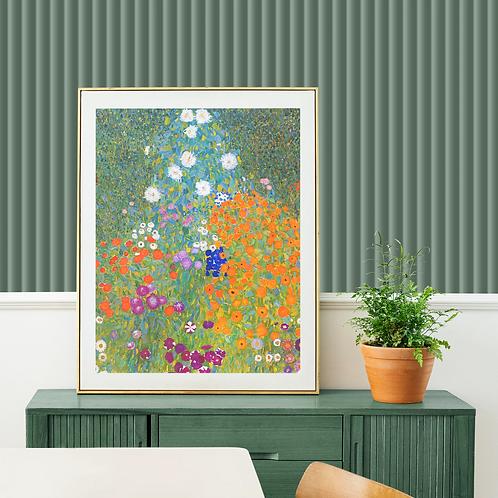 Gustav Klimt - Flower Garden (Bauerngarten)