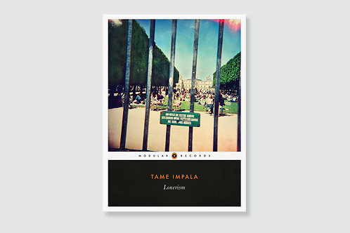 TAME IMPALA - Lonerism (In style of Classic Book Cover)