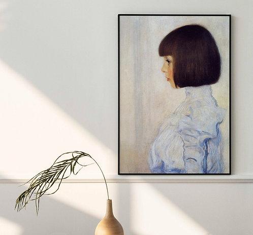 Gustav Klimt - Portrait Of Helene Klimt