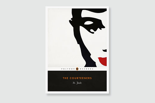 THE COURTEENERS -  St. Jude (In style of Classic Book Cover)