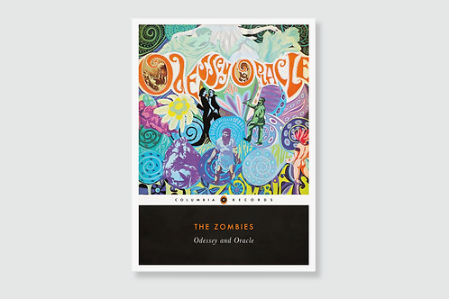 THE ZOMBIES -  Odessey And Oracle (In style of Classic Book Cover)