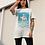 Vintage Bulldog Print T-Shirt Moriz Jung Colour Lithograph