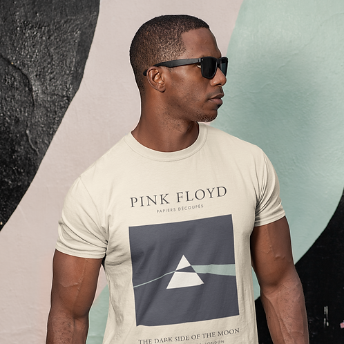 Pink Floyd - Dark Side Of The Moon (Exhibition Poster Style T-Shirt)