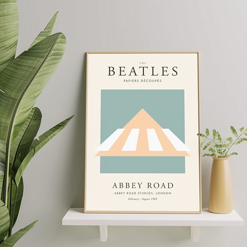 The Beatles - Abbey Road (Exhibition Poster)