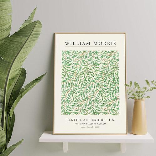 William Morris - Willow Bough (Minimalist Exhibition Poster)
