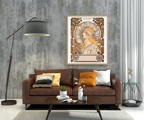 La Plume / Zodiaque (Astrology Poster)