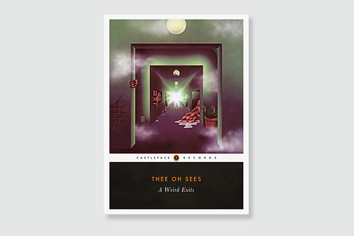 THEE OH SEES - A Weird Exits (In style of Classic Book Cover)