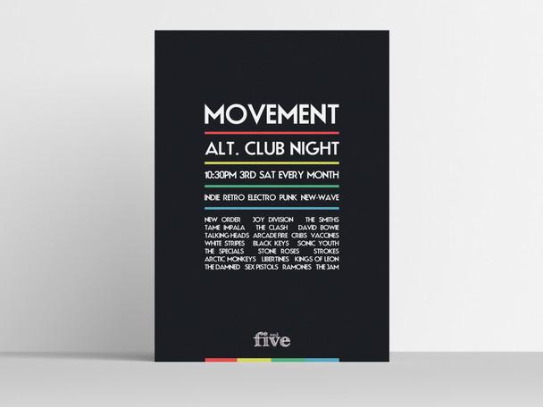 Movement - Alternative Club Night in Lincoln