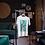 Vintage Greyhound Design T-Shirt Vegan & Eco-Conscious Materials
