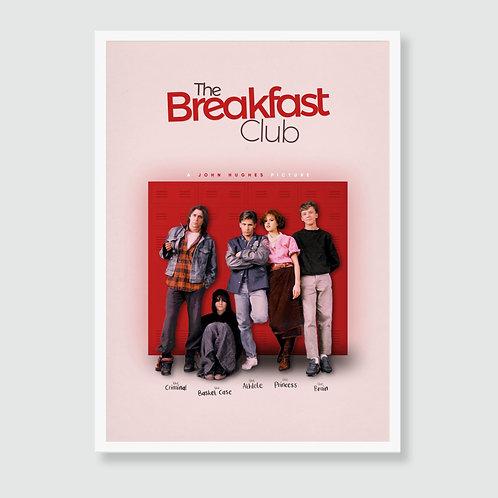 THE BREAKFAST CLUB (John Hughes) 80s Brat Pack Movie Art Print / Film Poster