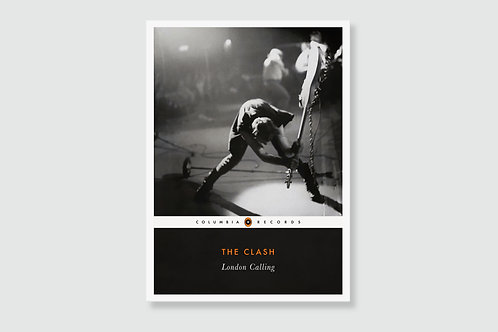 THE CLASH - London Calling (In style of Classic Book Cover)