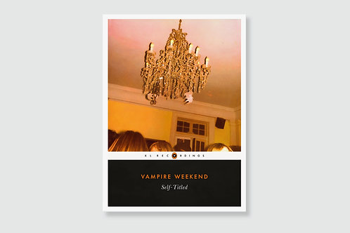 VAMPIRE WEEKEND - Self-Titled (In style of Classic Book Cover)