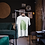 Vintage Style Fern Leaf T-Shirt Sustainably Produced Cotton