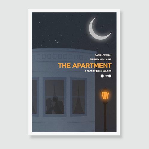 THE APARTMENT (Billy Wilder, Jack Lemmon, Shirley MacLaine) Movie Art Print / Film Poster