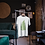 Fern Leaf Plant Print T-Shirt Botanical Design Eco-Friendly & Unisex