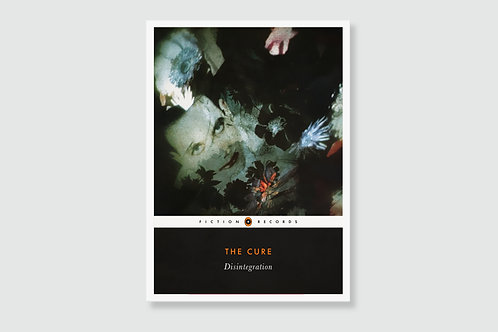 THE CURE - Disintegration (In style of Classic Book Cover)
