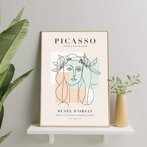 Pablo Picasso - War and Peace (Exhibition Poster)