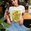 Vincent Van Gogh Sunflower Painting T-shirt Vintage Style Organic Cotton
