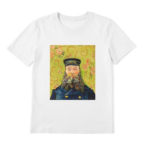 VINCENT VAN GOGH - The Postman - 100% Organic Cotton Unisex T-Shirt featuring Classic Art