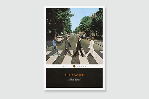 THE BEATLES - Abbey Road (In style of Classic Book Cover)