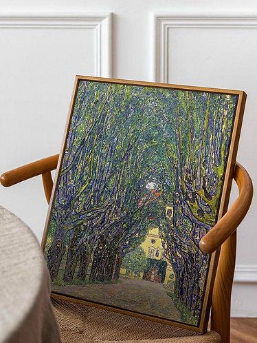Gustav Klimt - Allee at Schloss Kammer