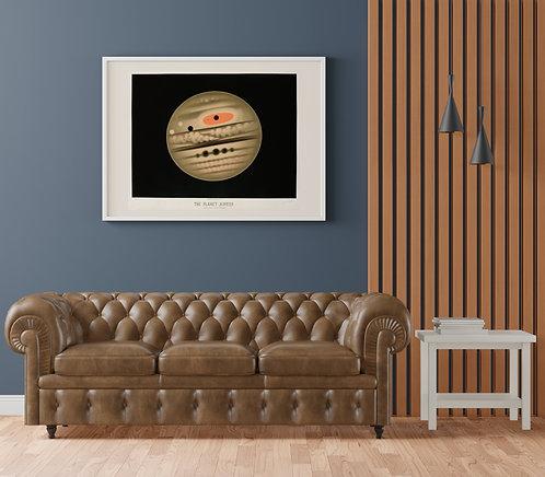 E. L. Trouvelot - Planet Jupiter