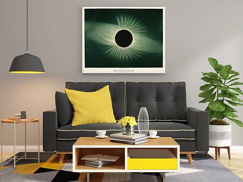 E. L. Trouvelot - Total Eclipse Of The Sun