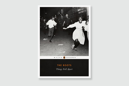 THE ROOTS - Things Fall Apart (In style of Classic Book Cover)