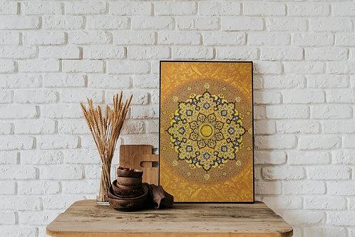 Shamse Tazhib (Traditional Indian / Persian Art)