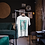 Greyhound Print Vintage Moriz Jung Unisex Crew Neck Organic T-Shirt