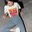 Henri Matisse Violet Leaf Abstract Art Print T-Shirt
