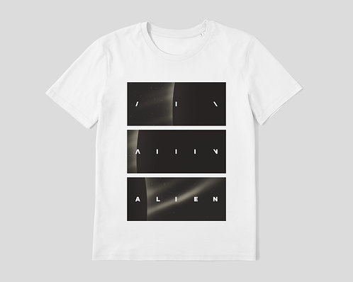 ALIEN [1979] - 100% Organic Cotton Unisex T-Shirt inspired by Movie Opening Titles