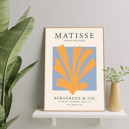 Henri Matisse - Papier Découpé (Minimalist Exhibition Poster)