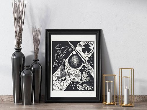 Wassily Kandinsky - Kleine Welten VI (Small Worlds 6)