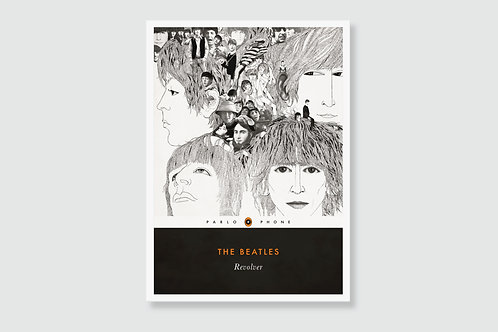 THE BEATLES - Revolver (In style of Classic Book Cover)