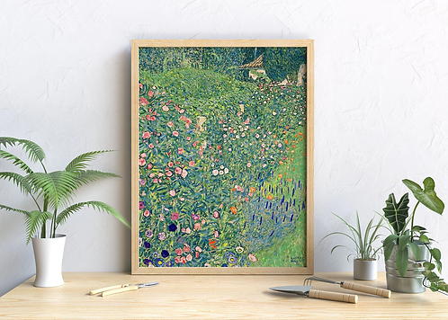 Gustav Klimt - Italian Garden Landscape (Italienische Gartenlandschaft)