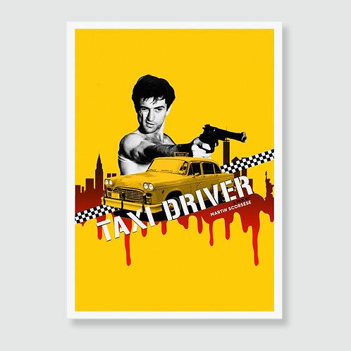 TAXI DRIVER (Martin Scorsese, Robert De Niro) Film Art Print /  Movie Poster