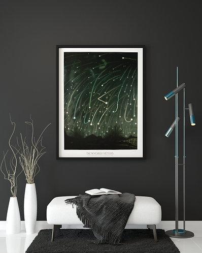 E. L. Trouvelot - The November Meteors