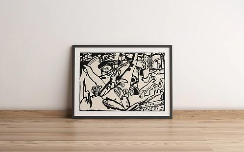 Wassily Kandinsky - Composition 2