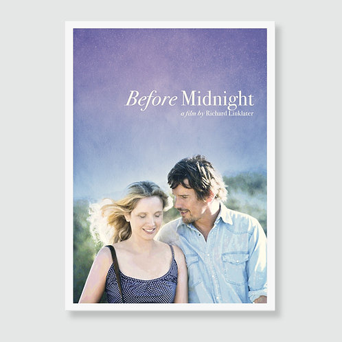BEFORE MIDNIGHT (Richard Linklater) Film Art Print / Movie Poster
