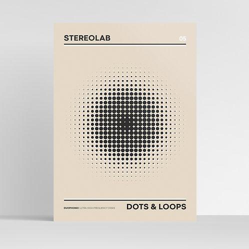 STEREOLAB | Dots & Loops Minimalist Album Art Design / Music Print