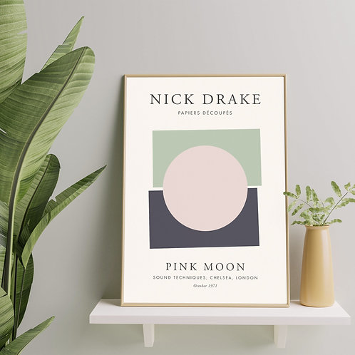 Nick Drake - Pink Moon (Exhibition Poster)