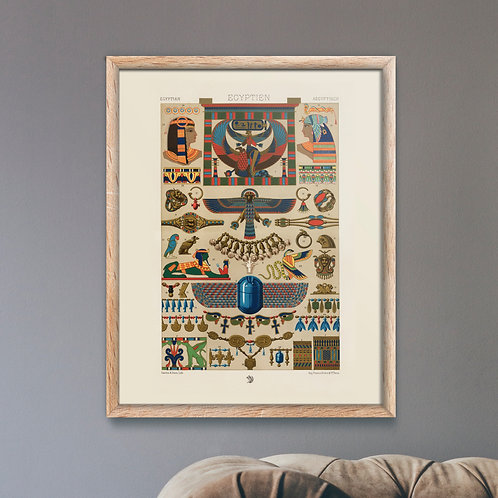 Albert Racinet - Egyptian Pattern