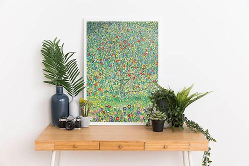 Gustav Klimt - Apple Tree (Apfelbaum)