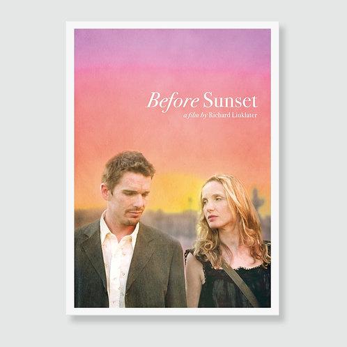 BEFORE SUNSET (Richard Linklater) Film Art Print / Movie Poster