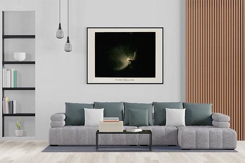 The Great Nebula In Orion - E. L. Trouvelot