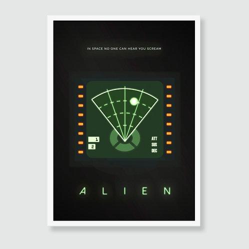 ALIEN [1979] (Ridley Scott) Film Art Print / Movie Poster